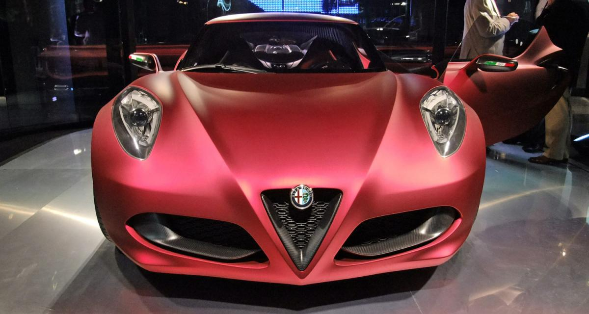 Alfa 4C : en vente dès 2012