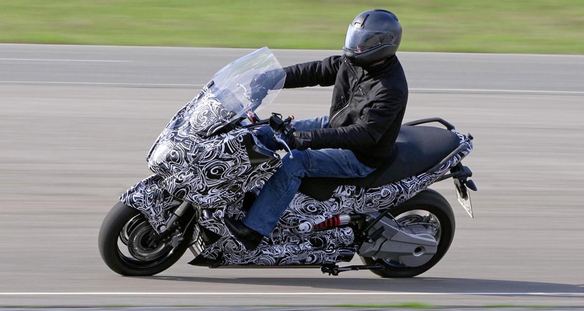 BMW E-Scooter concept : maxi-scooter électrique