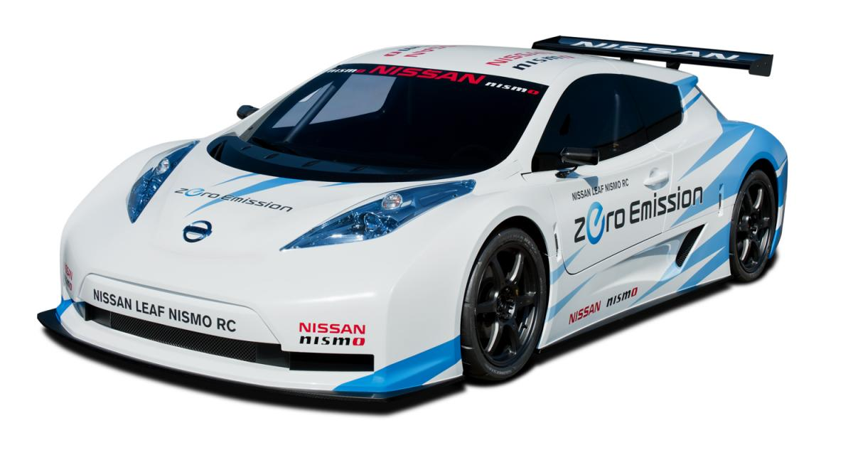 New York 2011 : Nissan Leaf Nismo RC