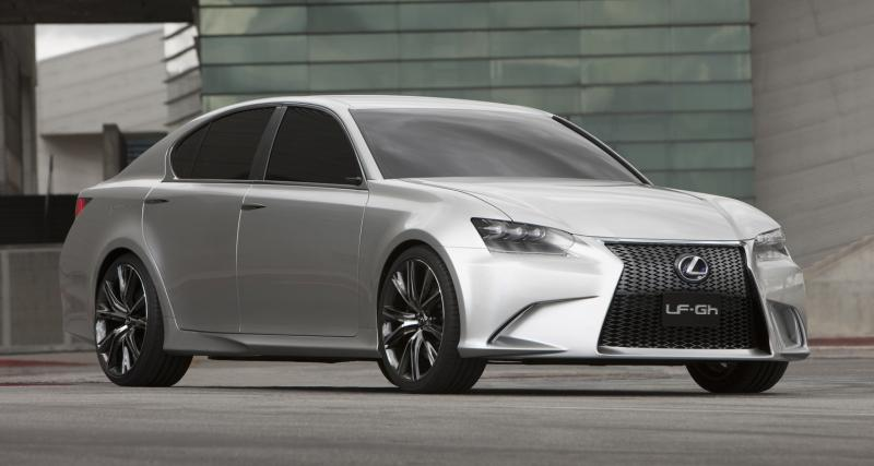 Salon de New York : Lexus LF-Gh Concept