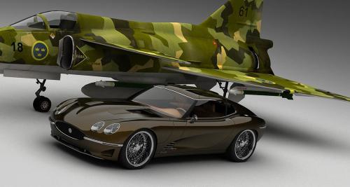 Vizualtech Growler E : la Jaguar qui venait du froid