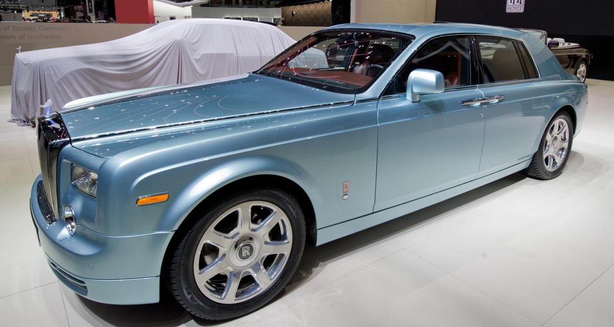 Genève 2011 : Rolls-Royce Phantom 102EX