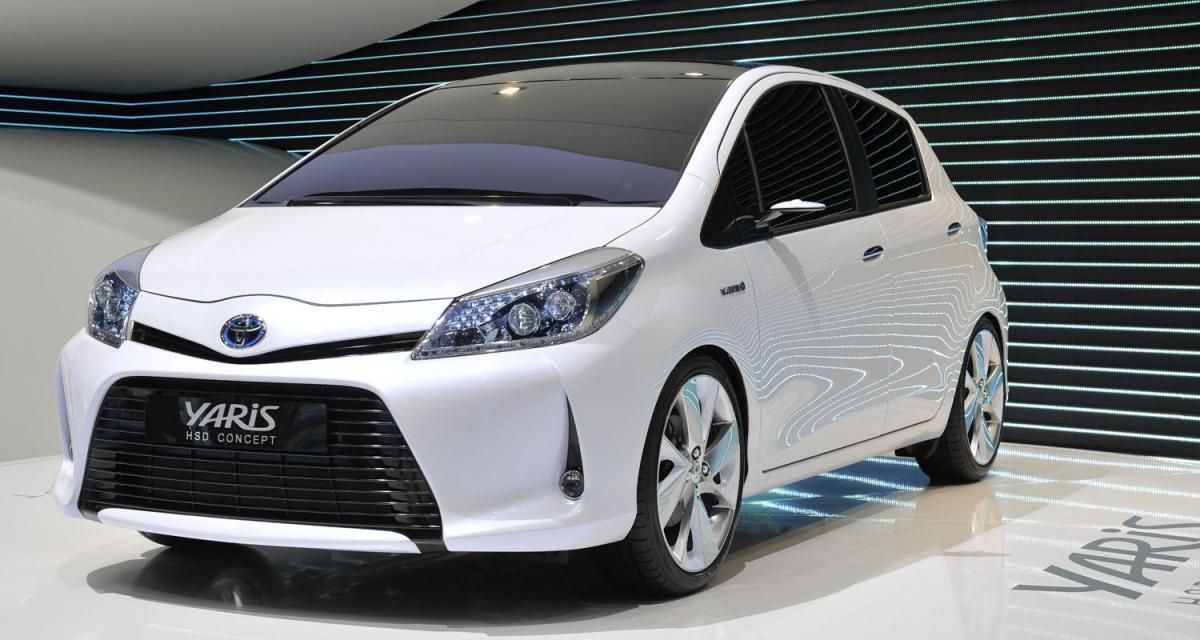 Genève 2011 : Toyota Yaris HSD Concept
