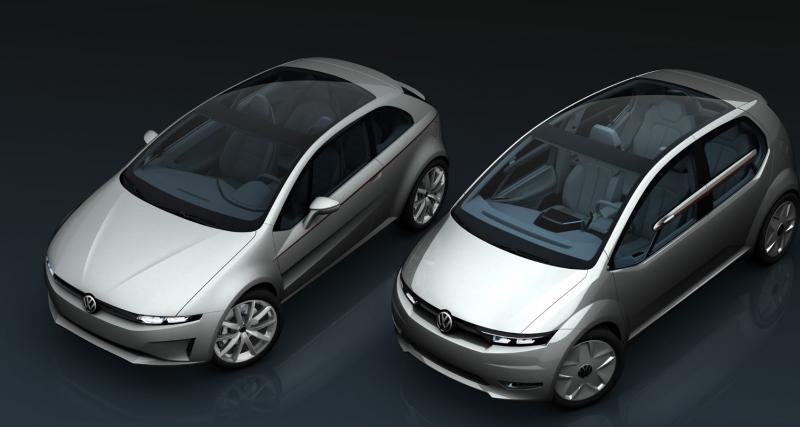 Genève 2011 : Giugiaro Tex et GO!, deux philosophies pour Volkswagen