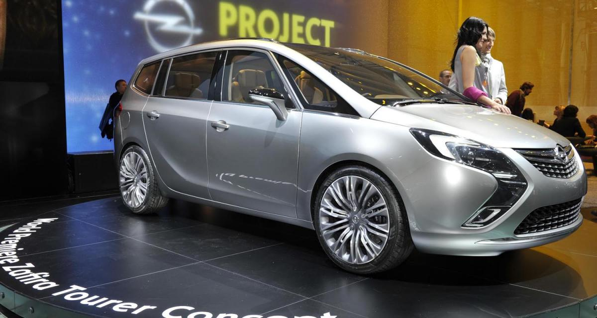 Opel Zafira Tourer Concept : encore un peu de patience