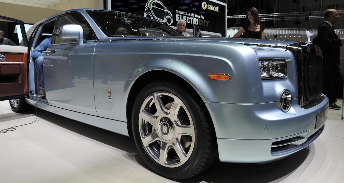 Genève 2011 : Rolls-Royce 102EX Concept