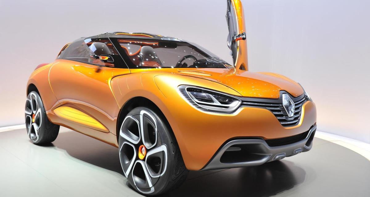 Genève 2011 : Renault Captur