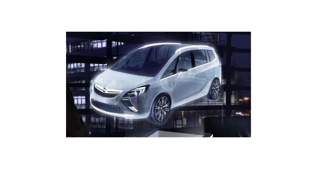Genve 2011 Opel Zafira Tourer Concept