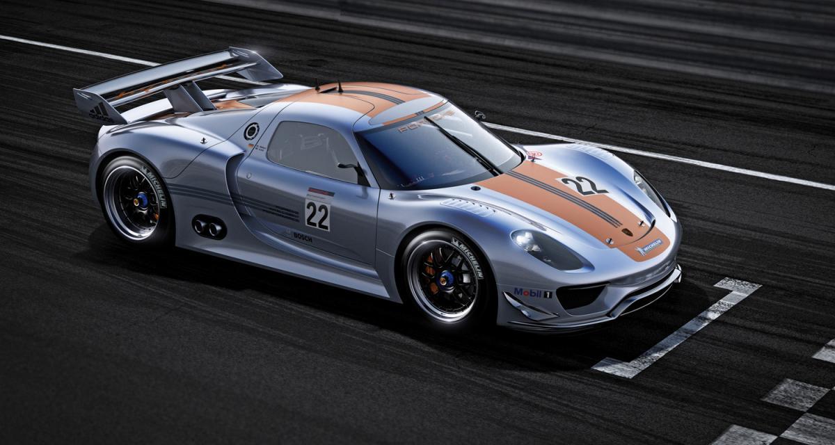 Detroit 2011 : Porsche 918 RSR