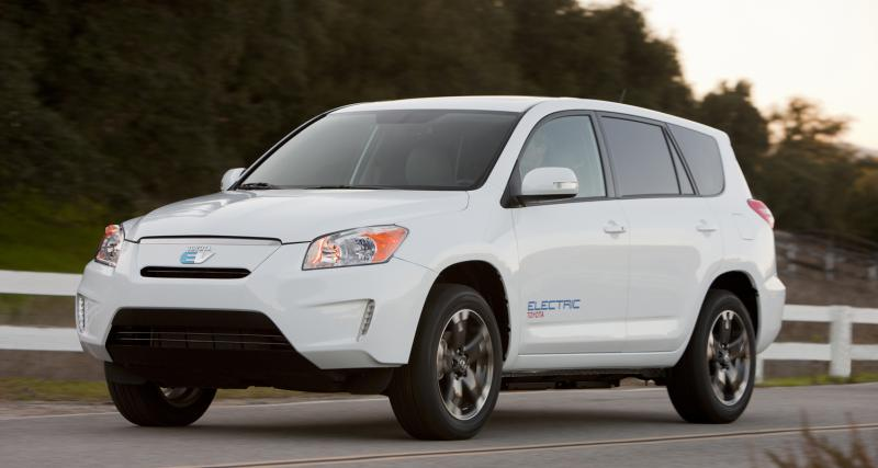 Los Angeles 2010 : Toyota RAV4 EV