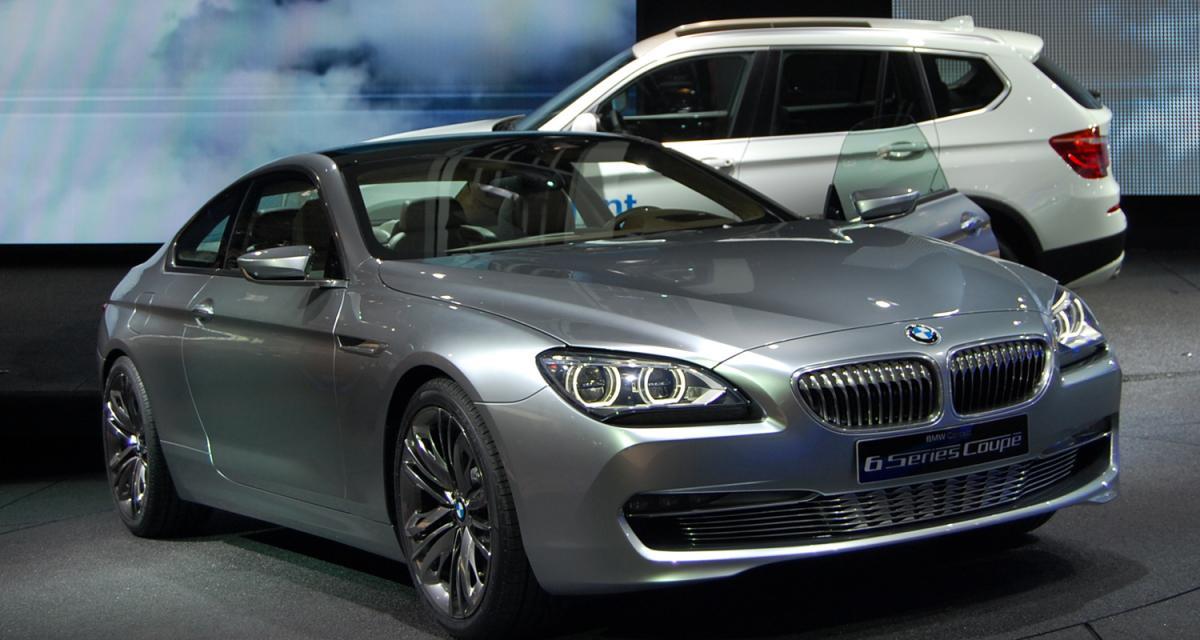 En direct du Mondial de l'Auto : BMW Concept Série 6 Coupé