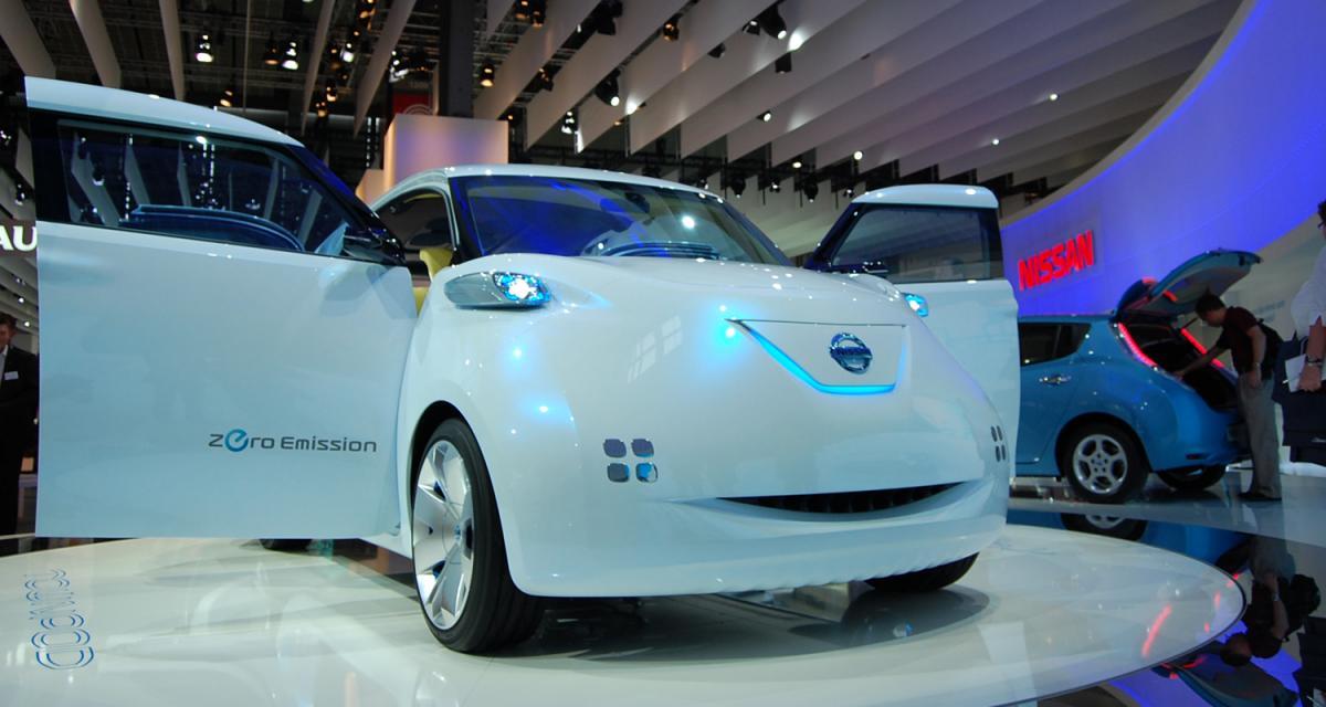 En direct du Mondial de l'Auto 2010 : Nissan Townpod