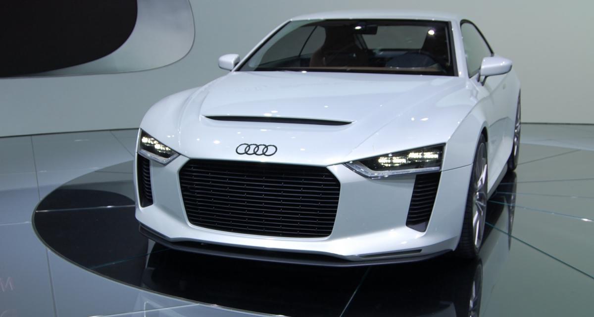 En direct du Mondial de l'Auto 2010 : Audi Quattro Concept