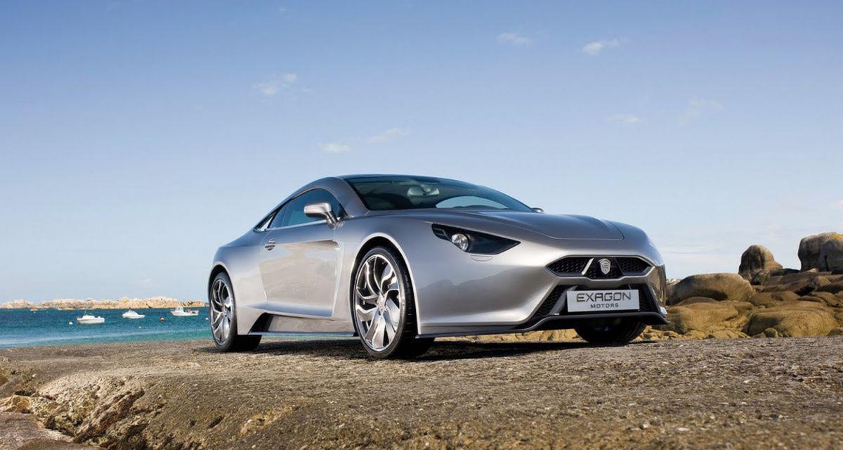 Mondial de l'Auto 2010 : Exagon Furtive e-GT, l'exception à la française