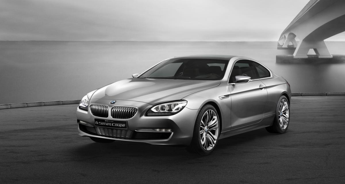Mondial de l'Auto 2010 : BMW Concept Série 6 Coupé