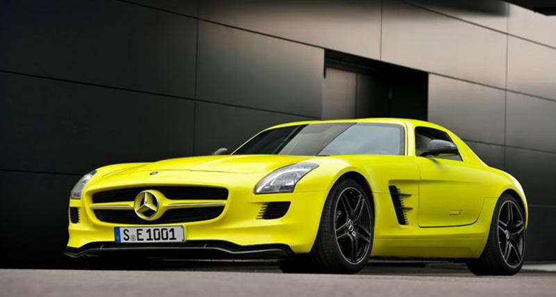 Mercedes SLS AMG E-Cell : 533 chevaux verts