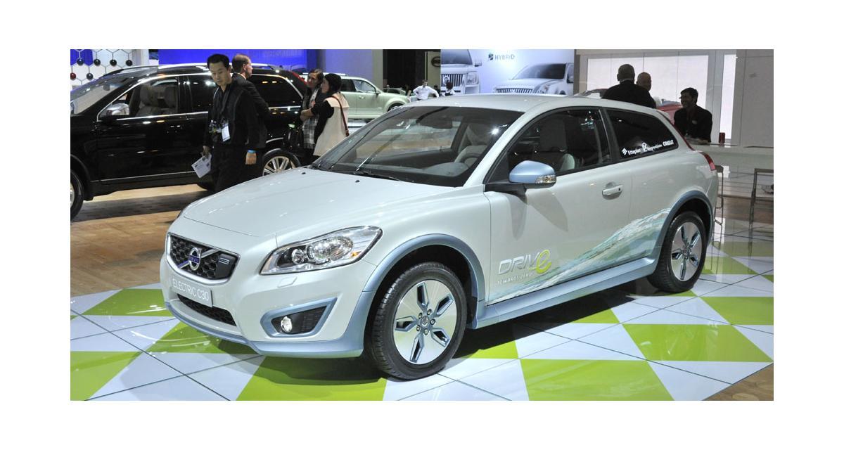 Detroit 2010 : Volvo C30 électrique
