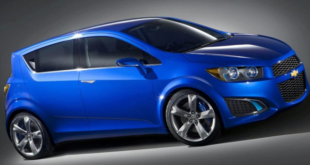 Detroit 2010 : Chevrolet Aveo RS Concept