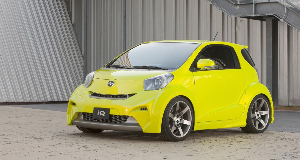 Scion iQ : Tuning touch