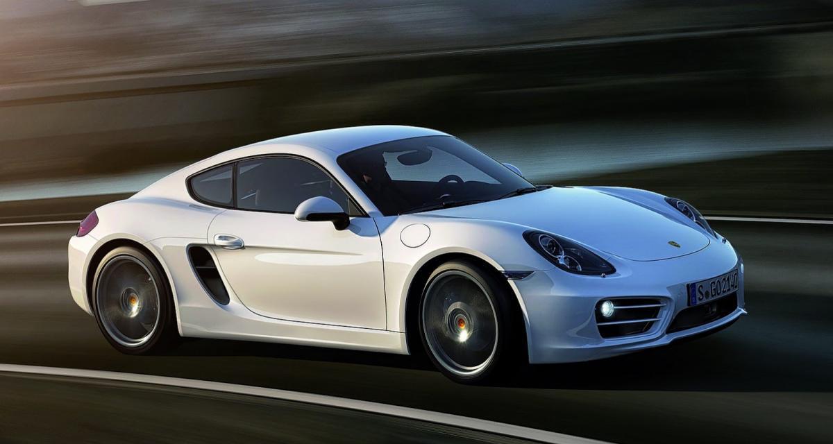 Los Angeles 2012 : Porsche Cayman II (+vidéo)