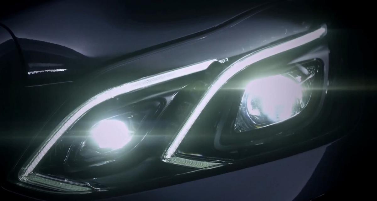 Mercedes Classe E : premier teaser (video)