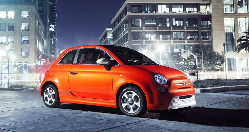 Fiat 500e (2013) : la citadine premium électrique en Californie