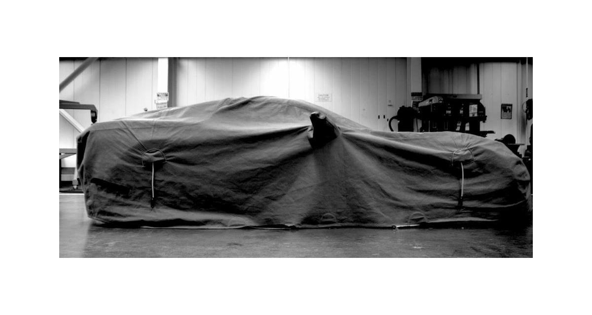 Chevrolet Corvette C7 : premier teaser