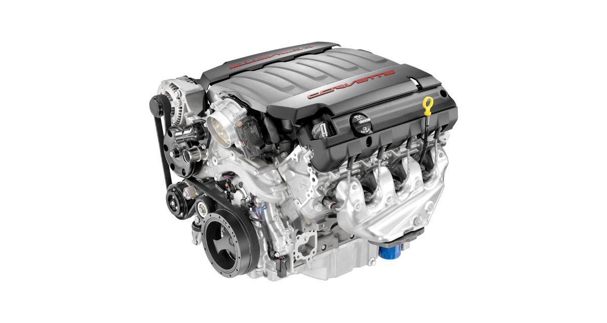 Tout sur le V8 de la Chevrolet Corvette C7