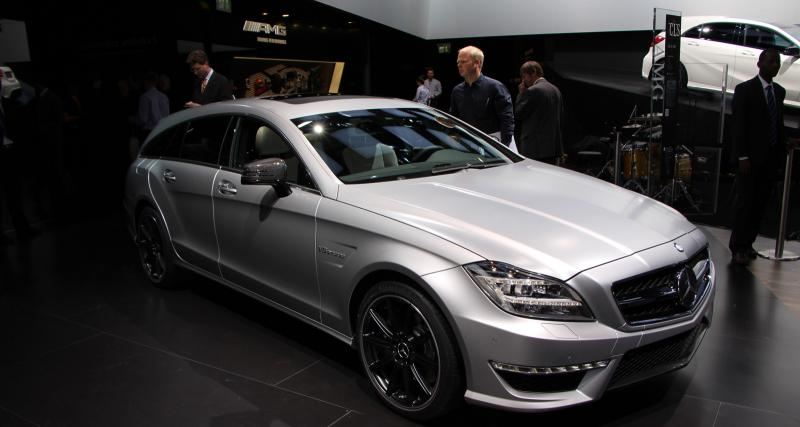 Mondial de l'Auto en direct : Mercedes CLS Shooting Brake 63 AMG