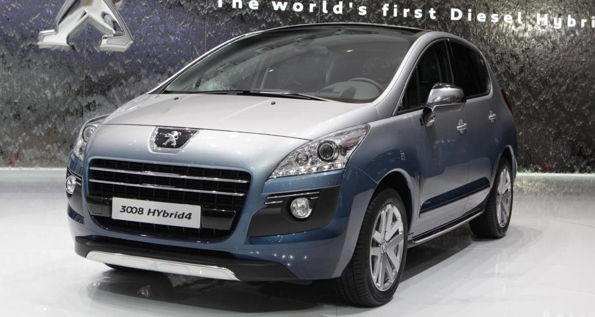 Genève 2011 : Peugeot 3008 Hybrid4 Limited Edition