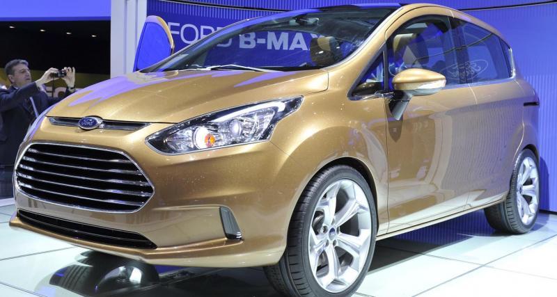 Salon de Genève : Ford B-Max