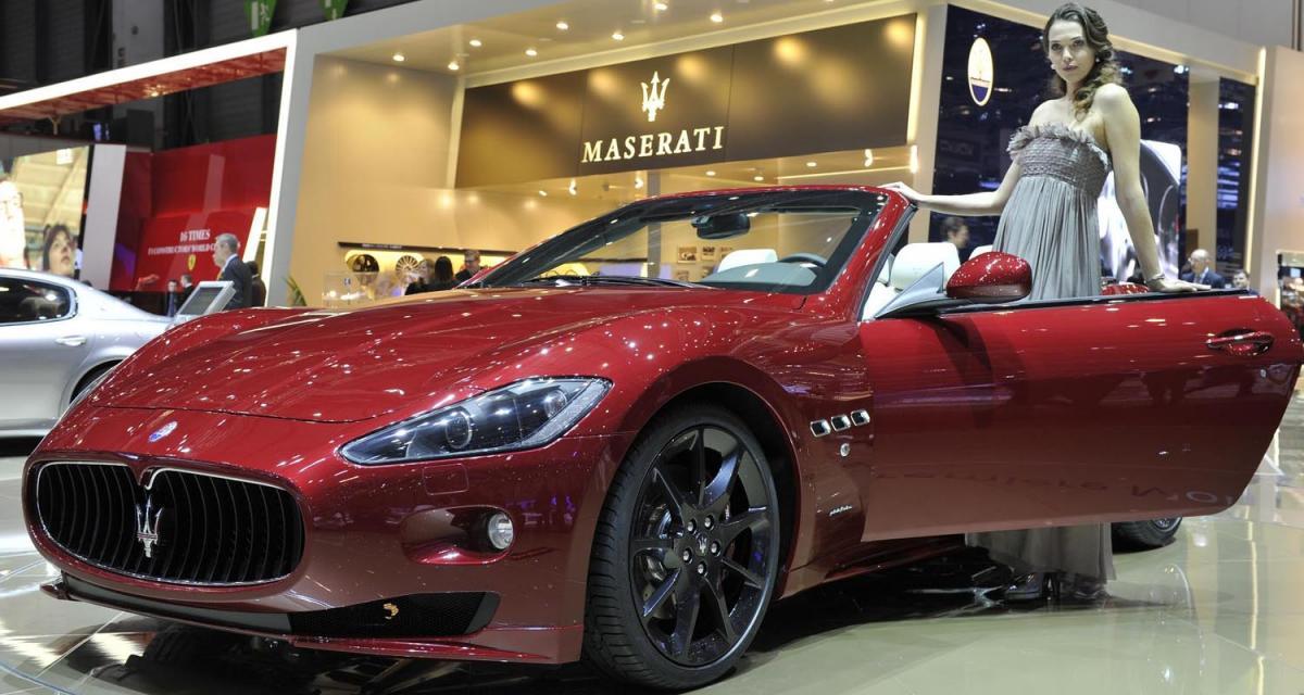 Genève 2011 : Maserati GranCabrio Sport