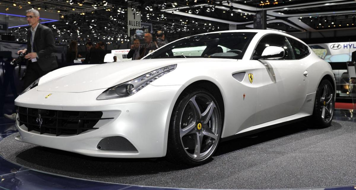 Genève 2011 : Ferrari Four