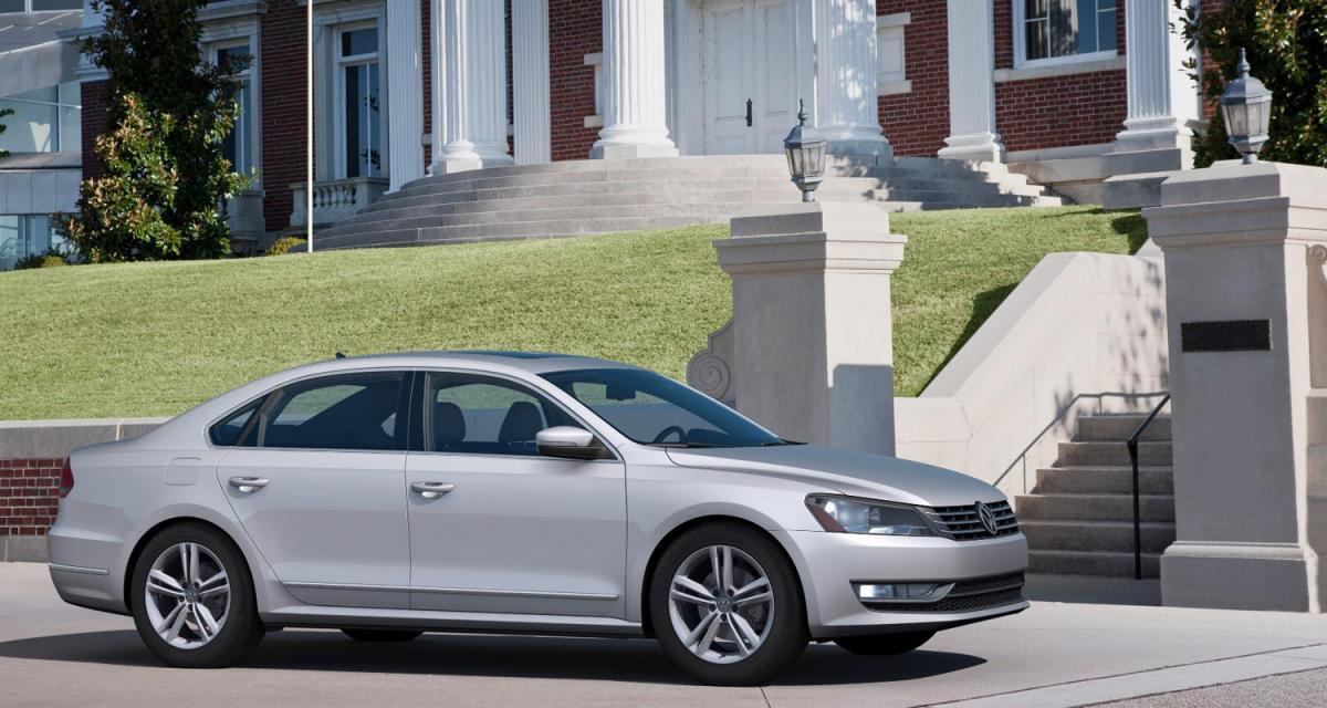 Detroit 2011 : Volkswagen Passat U.S.