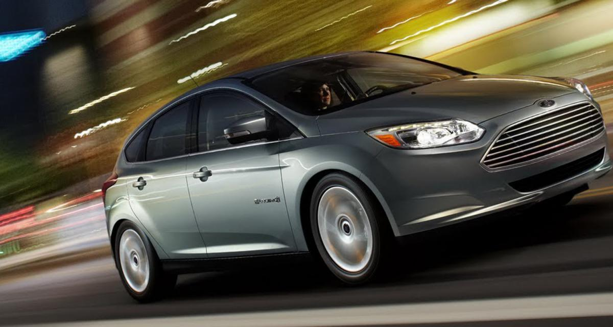 Detroit 2011 : Ford Focus Electric