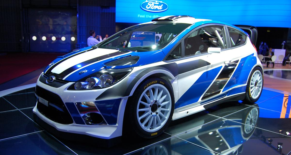 En direct du Mondial de l'Auto 2010 : Ford Fiesta WRC