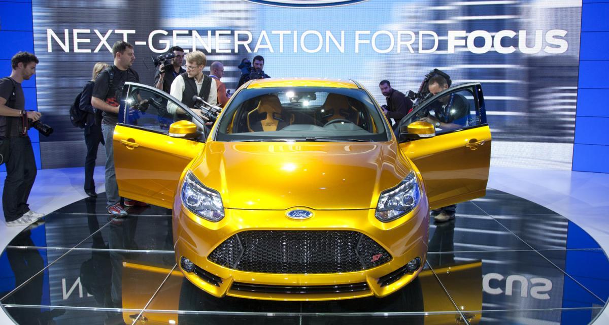 En direct du Mondial de l'Auto 2010 : Ford Focus ST