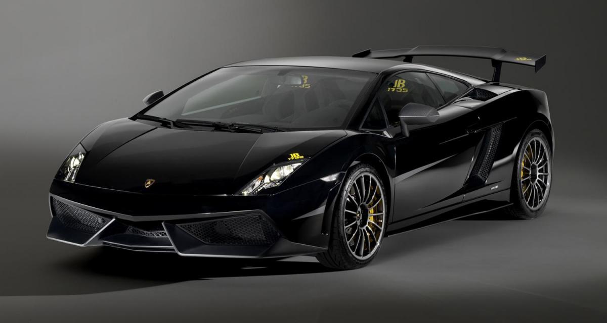Mondial de l'Auto 2010 : Lamborghini Gallardo LP570-4 Blancpain Edition