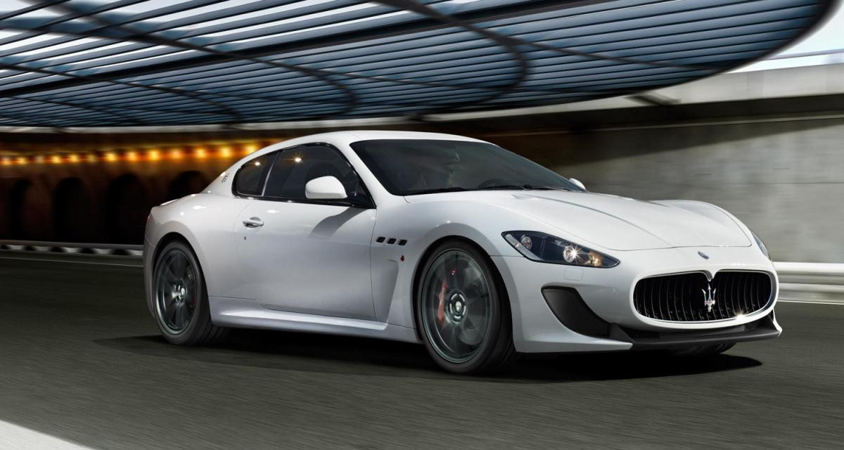 Mondial de l'Auto : Maserati GranTurismo MC Stradale