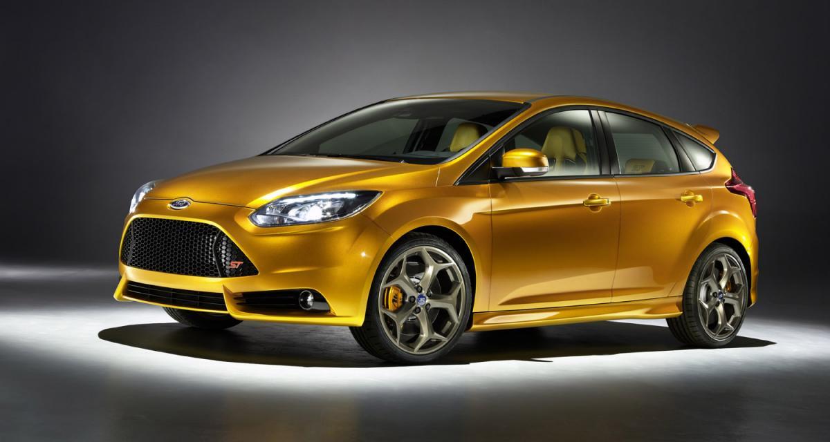 Mondial de l'Automobile : Ford Focus ST