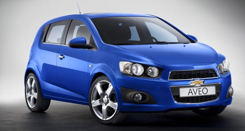 Mondial de l'Automobile 2010 : Chevrolet Aveo
