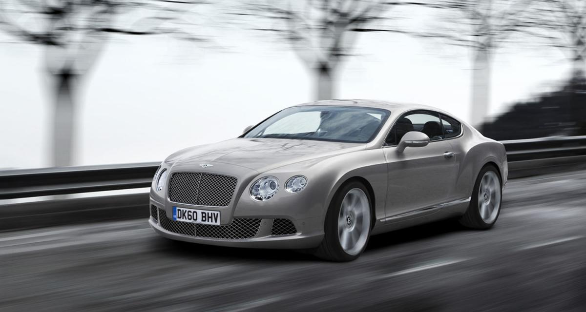 Mondial de l'Automobile 2010 : Bentley Continental GT 2011