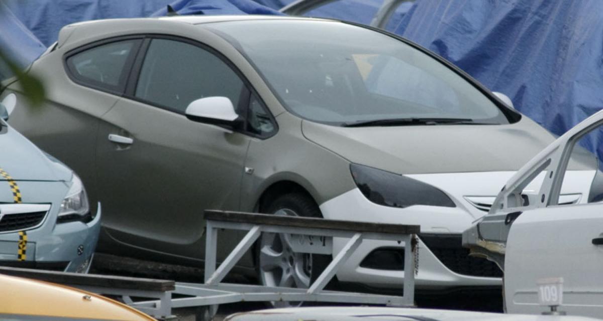 Mondial de l'Automobile : l'Opel Astra GTC en approche
