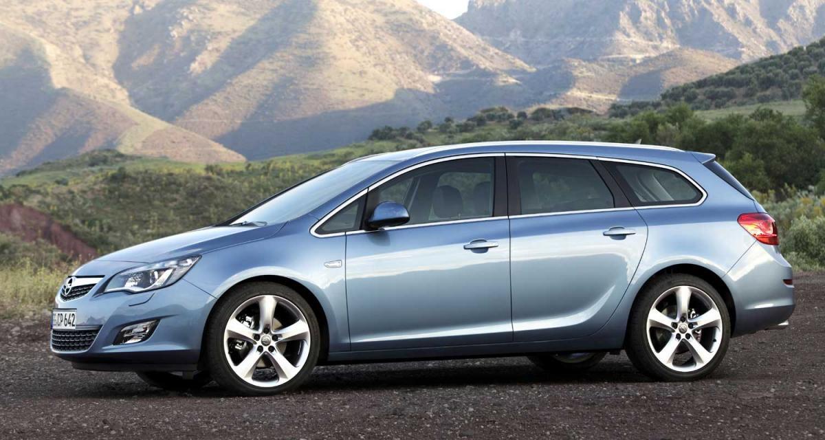 Opel Astra Sports Tourer : l'art du compromis