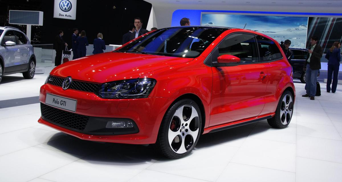 Salon de Genève en direct : Volkswagen Polo GTI