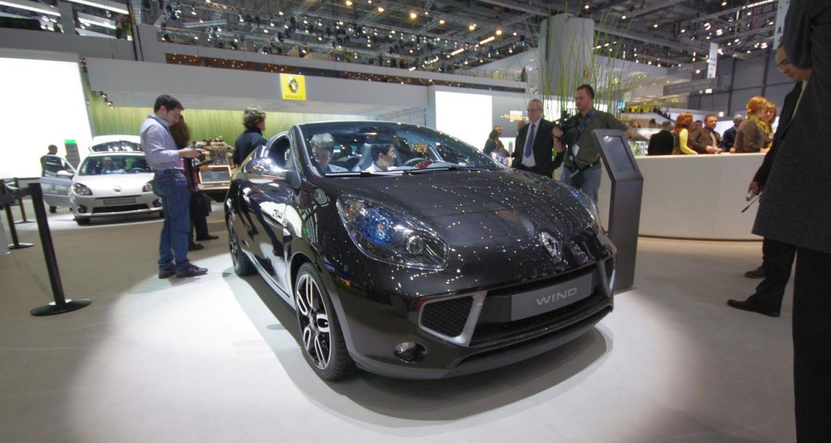 Salon de Genève en direct : Renault Wind