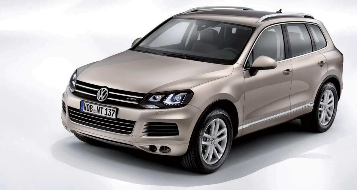 Genève 2010 : Volkswagen Touareg II