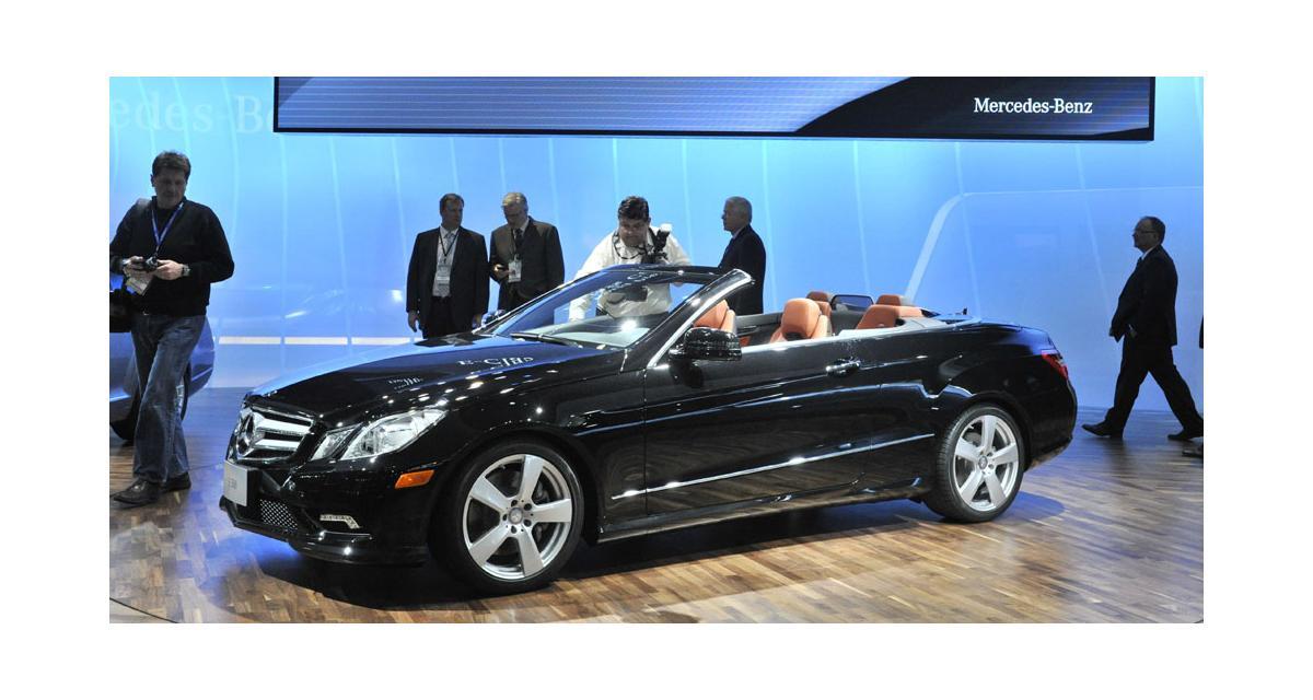 Detroit 2010: Mercedes Classe E cabriolet