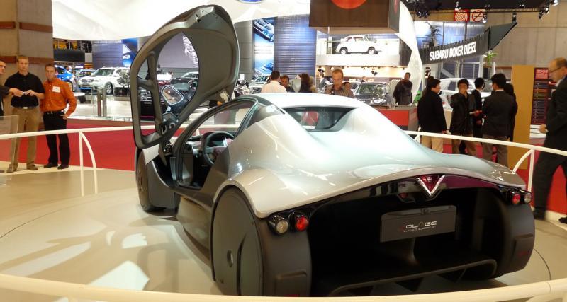 Mondial de l'Auto 2008 : Venturi Volage