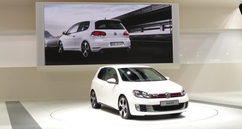 Mondial 2008 : Volkswagen Golf VI GTI Concept